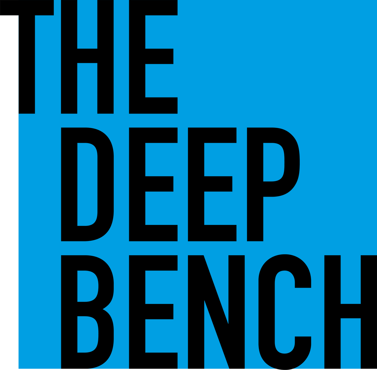 The Deep Bench Logo